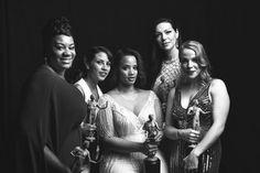 Orange is the New Black - Adrienne C. Moor, Elizabeth Rodriguez, Dascha Polanco, Laura Prepon, and Julie Lake.