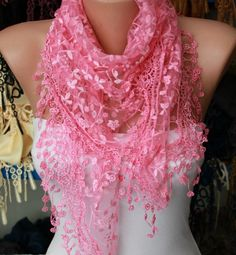 Women Shawl Scarf - by fatwoman on Etsy, $19.00