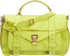 The color <3 wish list bag