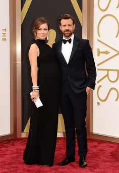 Olivia Wilde & Jason Sudeikis | #2014AcademyAwards