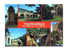 Built in 1777 after a number of wars in the region Wilhelmsbad served as a spa and was named after Crown Prince Wilhelm of Hessen Kassel.