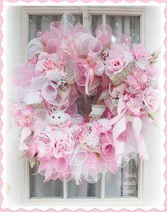 Pink Spring Princess Flopsy Lopsy Bunny Rose Garden