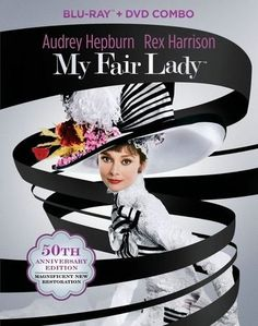 My Fair Lady [50th Anniversary Edition] [3 Discs] [Blu-ray/DVD] (Enhanced Widescreen for 16x9 TV) (English/French/German/Japanese) 1964 - Best Buy ~ http://www.bestbuy.com/site/my-fair-lady-50th-anniversary-edition-3-discs-blu-ray-dvd-eng-fre-ger-jap-1964/1825078.p?skuId=1825078