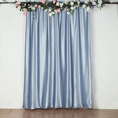 Cake Table Backdrop, Backdrop Stand, Wide Curtains, Panel Curtains, Velvet Color, Blue Velvet, Baby Blue Weddings, Blue Wedding Decorations, Fade Color