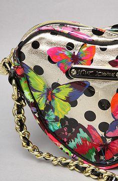 Betsey Johnson The 14KT Butterflies Cross Body Bag #butterflies #bag
