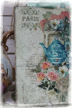 "Vintage ""TEA TIME...""~Shabby Chic~Country Cottage style~Wall Decor Sign $16.29"