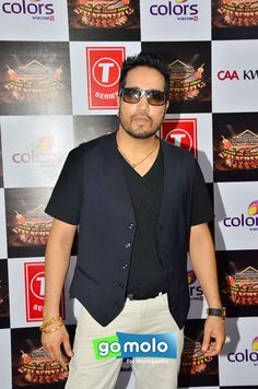 Mika Singh at the Press meet of 'Suron Ke Rang' music concert in Mumbai