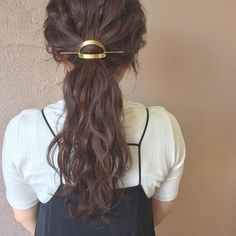いいね!160件、コメント1件 ― fumiko shiraiさん(@fumiko.0928)のInstagramアカウント: 「お出かけ前のヘアセット... #マジェステ#ヘアアクセサリー…」