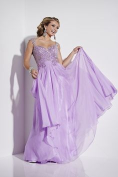 A really special lilac coloured prom dress from Eternity Prom