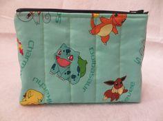 Pokemon Bag, Pokemon, Make Up Bag Pokemon, Pokemon Cosplay, Cosmetic Bag, Vape Case, Geekery, Pokemon Purse, Gift for Gamers, Pikachu, nerd