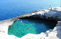 GREECE NATURAL SWIMMING POOL