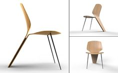 Leaf Chair by Jonathan Medcalf #design #furniture #mobilier #chair