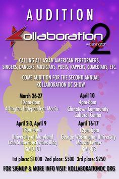 Kollaboration DC 2 Auditions