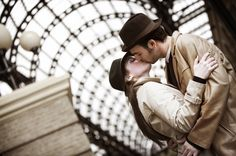 amor estación de tren