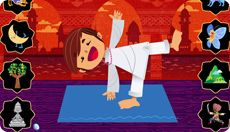 Discovery Kids Plus Pilates Videos, Chico Yoga, Games For Toddlers, Toddler Games, Baby Yoga, Yoga For Kids, Yoga Fitness, Mindfulness, Camping