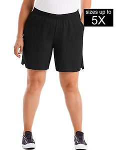 eed26b6117 Just My Size Cotton Jersey Pull-On Women's Shorts Just My Size, Women's  Shorts