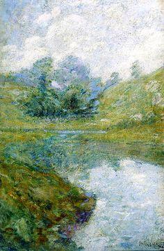 Landscape. John Henri Twachtman