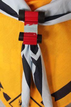 pinewood neckerchief slide