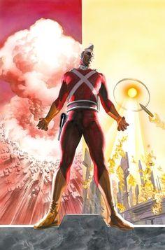 Alex Ross - DC Comics Presents: Mystery in Space 1 Cover (Adam Strange) Comic Art