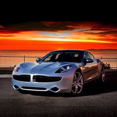 Fisker Karma - will someone take me for a sunset drive? -