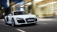 2013 Audi R8. Few cars look good in white...