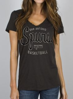 Junk Food Clothing - NBA San Antonio Spurs Tee - Tops - Womens NEED! 5747eabc0