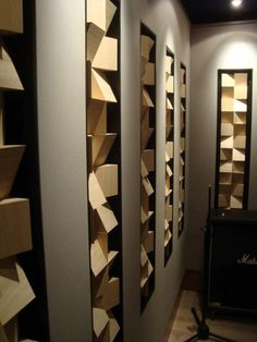 EQ — a new concept of acoustic diffuser, Luca...