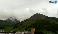 Peaceful view of Sestriere Vialattea - Italy. Enjoy the silence of the mountains! Visit our web site to watch this live cam!