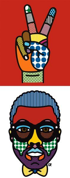 "Awesome Illustrations by Craig & Karl  Amazing art by creative duo Craig Redman and Karl Maier.  ""We live in different parts of the world but collaborate daily to create bold work that is filled with simple messages executed in a thoughtful and often humorous way.""  - Craig & Karl"