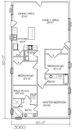 ... Barndominium Floors, Texas Ranch House Plans, Floor Plans, Texas