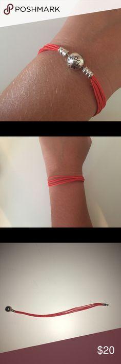 Orange pandora bracelet Cute Orange bracelet Pandora Jewelry Bracelets