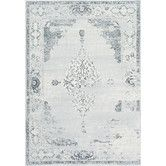 Found it at Wayfair - Fran Gray Area Rug