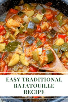 Low Calorie Vegetarian Recipes, Vegetable Recipes, Healthy Recipes, Veggie Meals, Keto Recipes, Easy Ratatouille Recipes, Traditional Ratatouille Recipe, Tomatoes, Kitchens