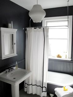 benjamin moore raccoon fur – has a bit of blue in it for depth and character. by Candice Saffer