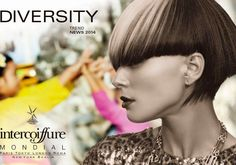 Intercoiffure Mondial revealed the newest collection of hair trends which include an ethnic touch and a mix of multiculturalism, created in ...