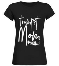Trumpet Mom T-Shirt - Marching Band Mother High School Shirt Saxophone T-shirt Band Mom Shirts, Band Tees, Marching Band Mom, Cameo Cutter, High School Days, Sports Mom, School Shirts, Vinyls, Shirts With Sayings