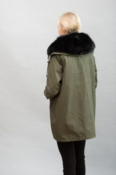 PRODUCT DETAILS  100% Cotton. Lining: 100% Polyester. Rib Collar: 98% Polyester, 2% Elastane. Faux Fur Vest: 100% Polyester. Vest Lining: 100% Cotton. Machine Wash Cold. Imported.