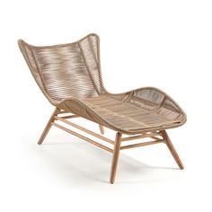 Buy Kubic Chaise Lounge Chair from Kave. The Kubic is a lounger made of solid eucalyptus, with 4 layers of PU coating for long UV protection and durabil. Double Day Bed, Double Sun Lounger, Conservatory Furniture, Garden Furniture, Outdoor Furniture, Rattan, Garden Loungers, Reclining Sun Lounger, Wingback Armchair