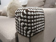 Crochet Sofa arm protector cover - The Crafty Co | The Crafty Co