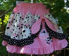 I have a pink princess who would LOVE this--this site actually has tons and tons of patterns rivaling boutique clothing...obviously it takes more time and effort than throwing something in a cart, but it also takes far less moolah...