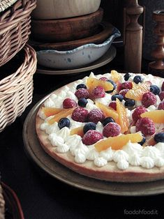 This amazing tart has a butter crust and it is filled with the fresh lemon namelaka cream. Perfect on all occasions, sweet at the right point, delicate, creamy, velvety and enriched with mixed fresh seasonal fruit. Yum!