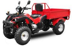 Les Tendances : Quad Jinling Dumper 200cc Rouge