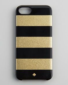 Glitter Jubilee Striped iPhone 5 Case