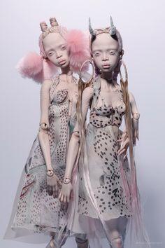 Popovy Sisters, Tawny Owl, Poppy Parker, Realistic Dolls, Doll Painting, Creepy Dolls, Just Girl Things, Retro Art, Custom Dolls