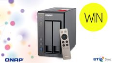 Win a QNAP TS-251+ NAS Drive with BT Shop