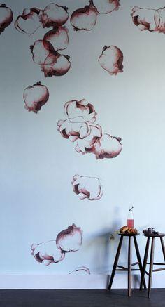 Trove Wallpaper - Errai  #wallpaper #trove #interior #design #floral #plants #boyac