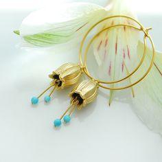 Baby bell earrings, via Flickr.