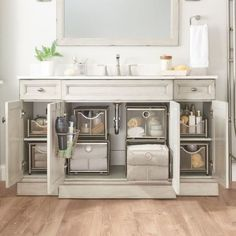 ORG Large Under the Sink Mesh Slide-Out Cabinet Drawer with Shelf & Bed Bath & Beyond .ORG Large Under the Sink Mesh Slide-Out Cabinet Drawer& The post .ORG Large Under the Sink Mesh Slide-Out Cabinet Drawer with Shelf Bathroom Cabinet Organization, Sink Organizer, Home Organization, Organizers, Organized Bathroom, Under Kitchen Sink Organization, Bathroom Vanity Storage, Bathroom Cleaning, Organize Bathroom Cabinets