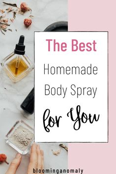 If you love body spray, learn to make your own at home. You just need a few supplies, such as your favorite essential oils. Learn more in this post! #bodyspray #bodysprayhomemade #bodysprayessentialoils #bodyspraydiy Healing Herbs, Medicinal Herbs, Homemade Body Spray, Lavender Uses, Growing Herbs, Diy Home Crafts, Garden Gifts, Bath And Body, Herbalism