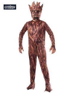 Boy's Groot Costume | Wholesale Guardians of the Galaxy Costumes